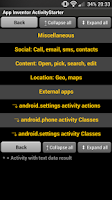 Screenshot of App Inventor ActivityStarter