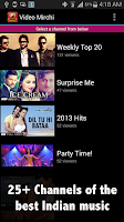 Screenshot of Hindi Music Videos & Top Songs