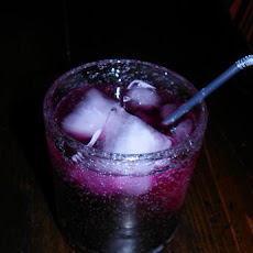 Alton Brown's Blueberry Soda from Good Eats (Food Network)