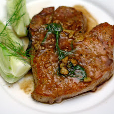 Mario Batali's Pork Chops with Fennel Seed and White Wine