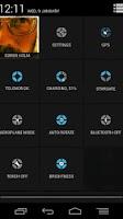 Screenshot of CM9 Theme: CirclesMod ICSBlue