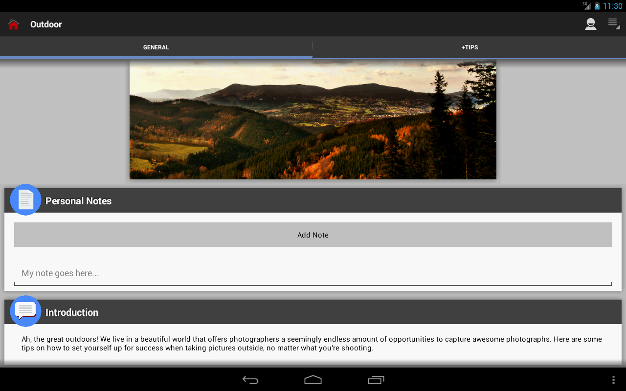 DSLR Photography Training apps Screenshot 9