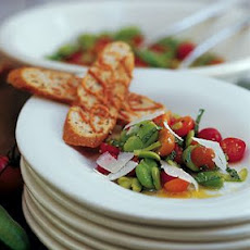 Cherry Tomato and Fava Bean Salad