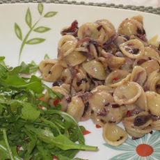 Orecchiette With Radicchio and Onions