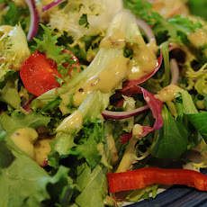 Cuban Garlic Salad Dressing