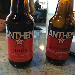 Full line of Anthem cider from Salem. Absolutely delicious food and great service to boot!!!