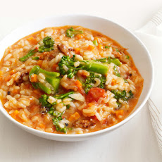 Sausage and Broccolini Risotto