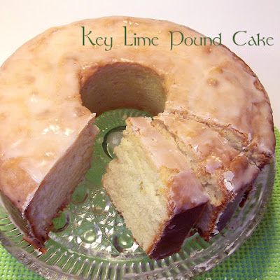 Key Lime Pound Cake from Southern Living Magazine, March 2011