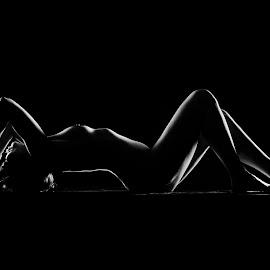 Silhouette by John Einar Sandvand - Nudes & Boudoir Artistic Nude