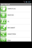 Screenshot of SMS Banking BRI Unofficial