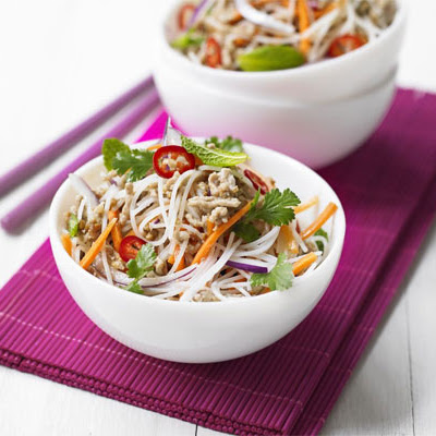 Zesty Rice Noodle Salad
