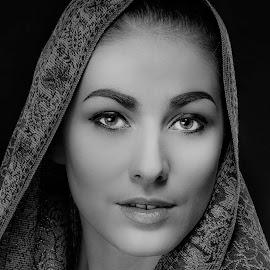 by Neny Nuraini - Black & White Portraits & People