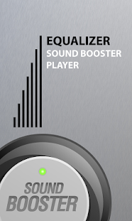 Equalizer Sound Booster Player - screenshot