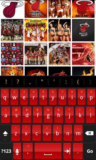 Hot Heat - HD Keyboard Theme