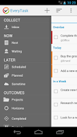 Screenshot of EveryTask | GTD To-do List