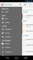 Screenshot of EveryTask   GTD To-do List