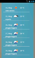 Screenshot of Previsioni Meteo Gratis
