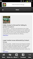 Screenshot of Eddie Stobart Fan App