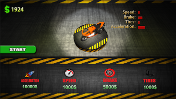Screenshot of Racing Moto Simulator