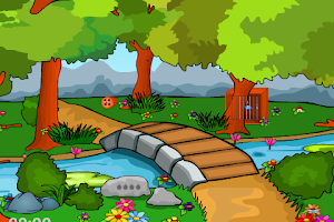 Screenshot of Forest Bird Cage Escape