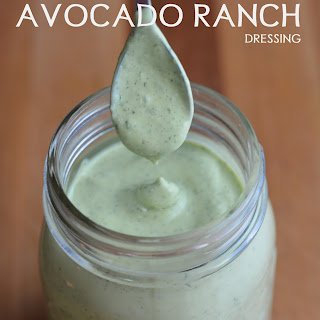 LowFat Avocado Ranch Dressing