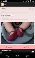 Screenshot of Babycontrol