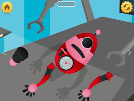 Screenshot of Secret Robot Lab - Kids Game