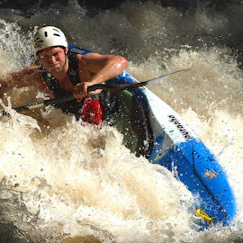 Playboater by Turnip Towers - Sports & Fitness Watersports ( kayaker, canoe, kayak, canoeist )