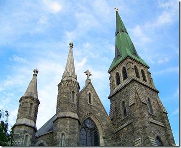 St Pat's  Steeples