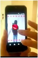 Screenshot of キスビームforバレンタイン