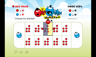 Screenshot of Vi Mancala - O An Quan