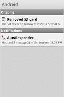 Screenshot of AutoResponder