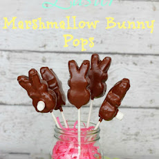 Easter Marshmallow Bunny Pops