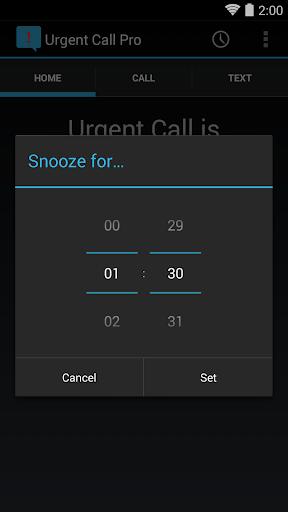 Urgent Call Pro - screenshot
