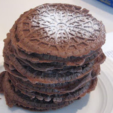 Chocolate Pizzelle from King Arthur