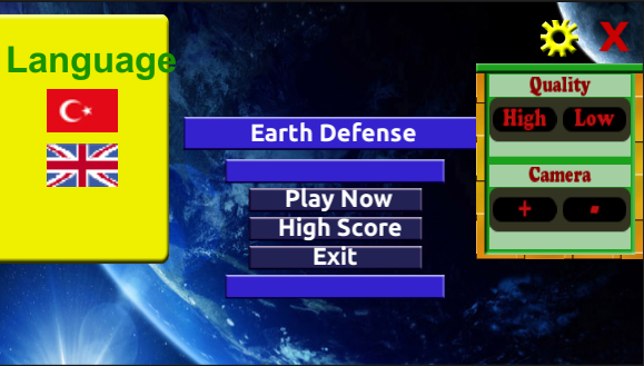 Earth Defense apk screenshot