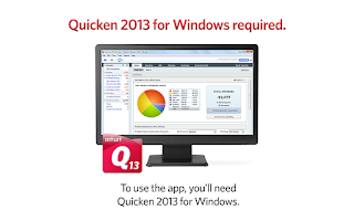 Screenshot of Quicken 2013 Money Management