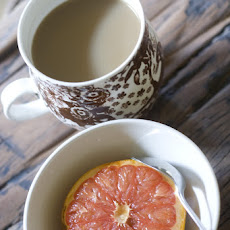 Maple Brûléed Grapefruit