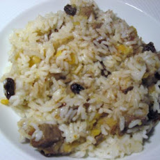 Rice With Lentils and Dates
