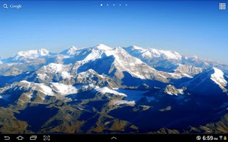 Screenshot of Spectacular Earth LWP
