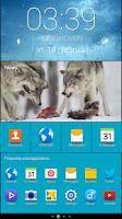 Screenshot of Galaxy S5 clock FREE