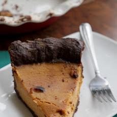 Maple Bourbon Pumpkin Pie