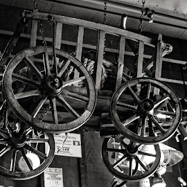 Riding High by Felix Collazo - Artistic Objects Antiques ( old, wooden, barn, artistic, wagon, antique )