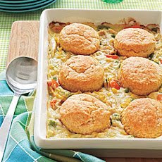 Biscuit-Topped Chicken Potpie