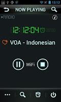 Screenshot of Voice of America Radio