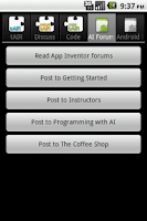 Screenshot of tAIR Companion App