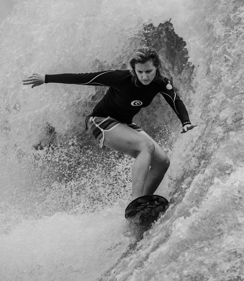 Surfing by Gopal Nair - Sports & Fitness Watersports