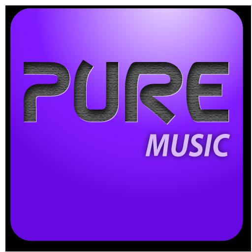 Pure music widget LOGO-APP點子