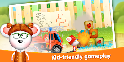 Screenshot of Firetrucks: rescue for kids