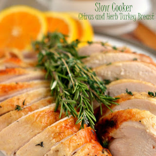 Slow Cooker Citrus and Herb Turkey Breast